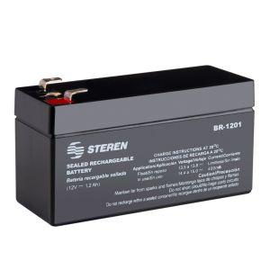 Batería sellada de ácido-plomo, 12 Vcc  1.2 Ah