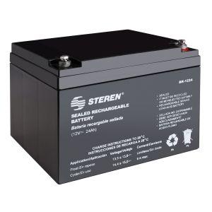 Batería sellada de ácido-plomo, 12 Vcc  24 Ah
