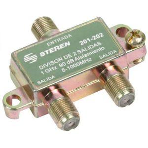 Divisor de 2 salidas, de 75 Ohms, 1 GHz, 90 dB