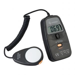 Medidor digital de luminosidad (luxómetro)