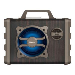 Amplificador de 350 WPMPO Bluetooth* con batería recargable y luz LED, portátil