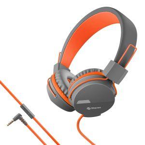 Audífonos manos libres con cable tipo cordón, plegables