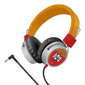 Audífonos con cable tipo cordón, plegables The Simpsons™-Duff