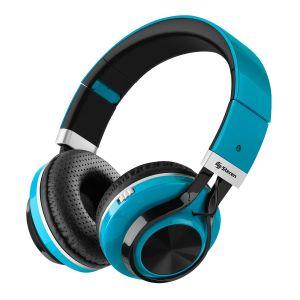 Audífonos Bluetooth Xtreme con reproductor MP3 color azul