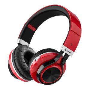 Audífonos Bluetooth Xtreme con reproductor MP3 color rojo