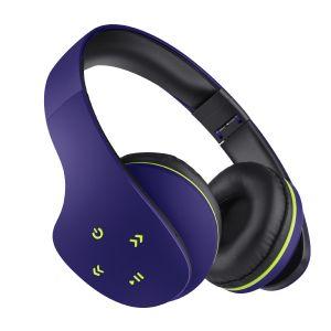 Audífonos Bluetooth ultra confort color azul