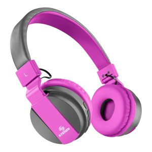 Audífonos Bluetooth color rosa