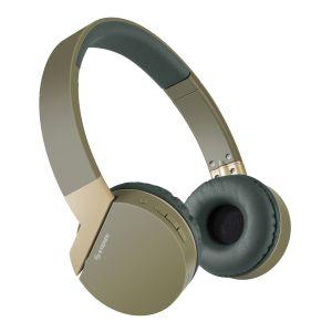 Audífonos Bluetooth con batería de hasta 12 h y reproductor MP3