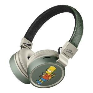 Audífonos Bluetooth* con reproductor MP3 The Simpsons™-Bart