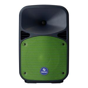 """Bafle de 8"""" 1,100 W PMPO Bluetooth con batería recargable"""