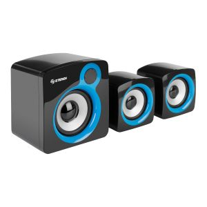 Sistema multimedia de audio 2.1 110 W PMPO