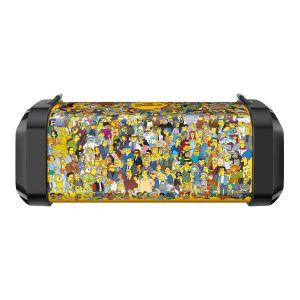 Bocina Bluetooth mini bazooka con reproductor USB/microSD The Simpsons™