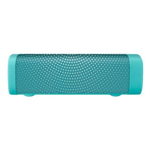 Bocina Bluetooth mini SoundBar con acabado textil verde