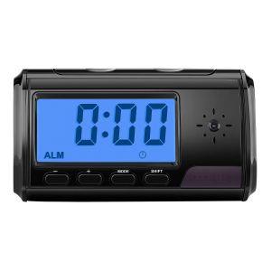 Reloj despertador con cámara oculta