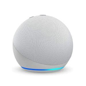 Bocina inteligente ECHO DOT 4ta Gen con Alexa, blanca