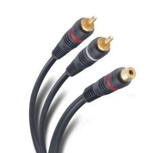 Cable RCA 2 plug a jack de 15 cm