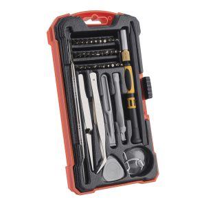 Kit profesional de herramientas para reparación y mantenimiento de electrónicos