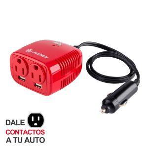 Inversor de corriente automotriz de 150 W (12 Vcc a 110 Vca)