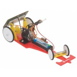 Kit solar de carrito de carreras para armar