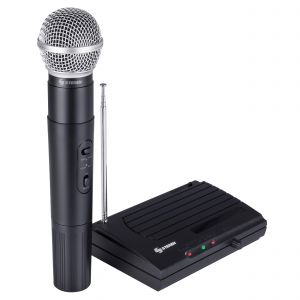 Micrófono inalámbrico VHF