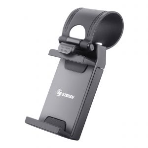 Soporte para celular con sujeción en volante