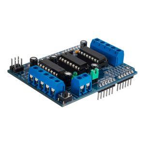 Tarjeta para control de motores CC (L293D)