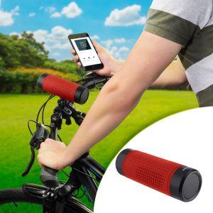 Bocina Bluetooth, linterna LED y cargador USB para bicicleta