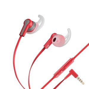 Audífonos manos libres Sport con control de volumen y cable plano