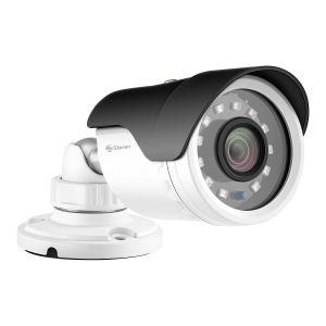 Cámara de seguridad CCTV digital Full HD, tipo mini bala, tetrahíbrida, metálica