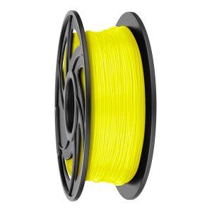 Filamento PLA para impresora 3D, amarillo