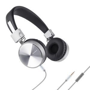 Audífonos manos libres con cable desprendible, plegables