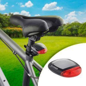 Luz de advertencia para bicicleta, con batería recargable