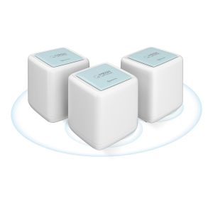 Sistema Smart Wi-Fi MESH doble banda 2,4 y 5 GHz, MU-MIMO