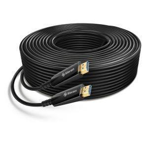 Cable HDMI 4K de fibra óptica, 30 m