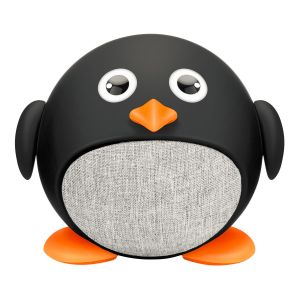 Mini bocina Bluetooth con forma de pingüino