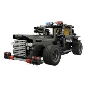 Kit para armar de carro policía con control remoto