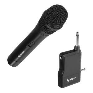 Micrófono inalámbrico con receptor multiconexión