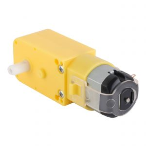 Motor reductor de doble eje tipo I, 3 Vcc