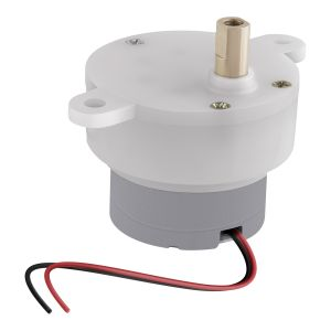 Motor reductor con eje tipo I, 12 Vcc