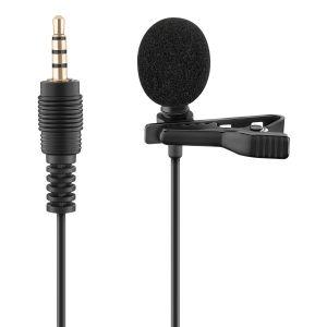 Micrófono 3,5 mm de solapa para celular