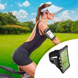 Porta celular con luz LED para brazo