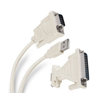Adaptador USB a serial DB9, de 1,8 m